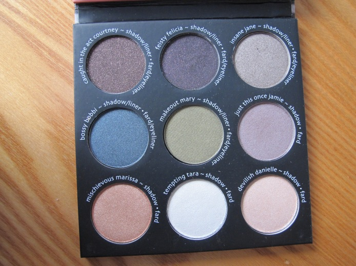 TheBalm - Shady Lady 2 - couleurs