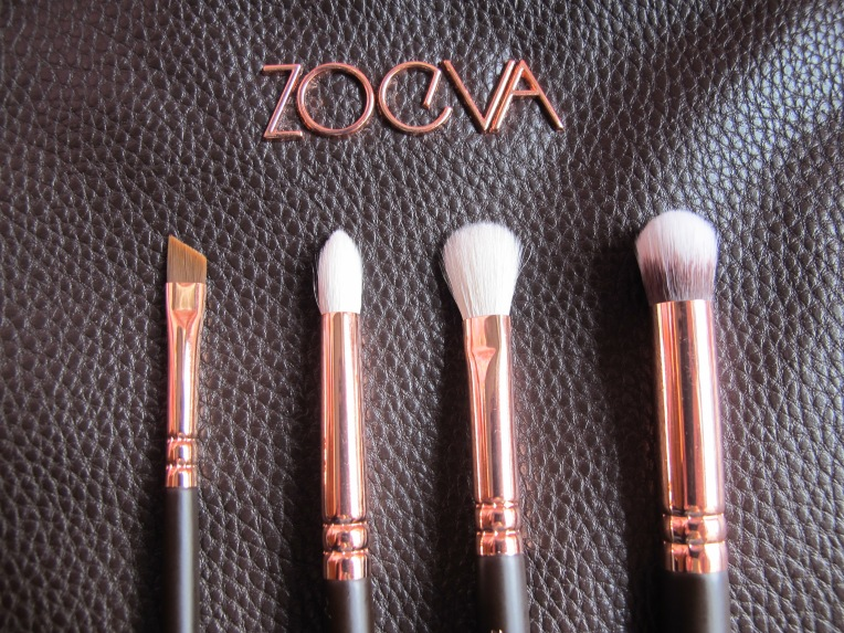 zoeva pinceaux rose gold - yeux